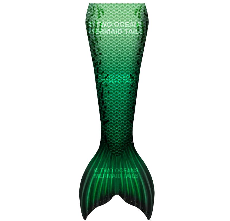 emerald luna mermaid tail skin south africa